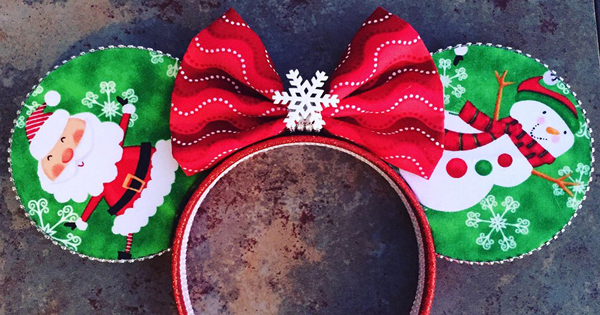 Holiday Sale on Minnie Mouse Headbands and Other Fantastic Designs!