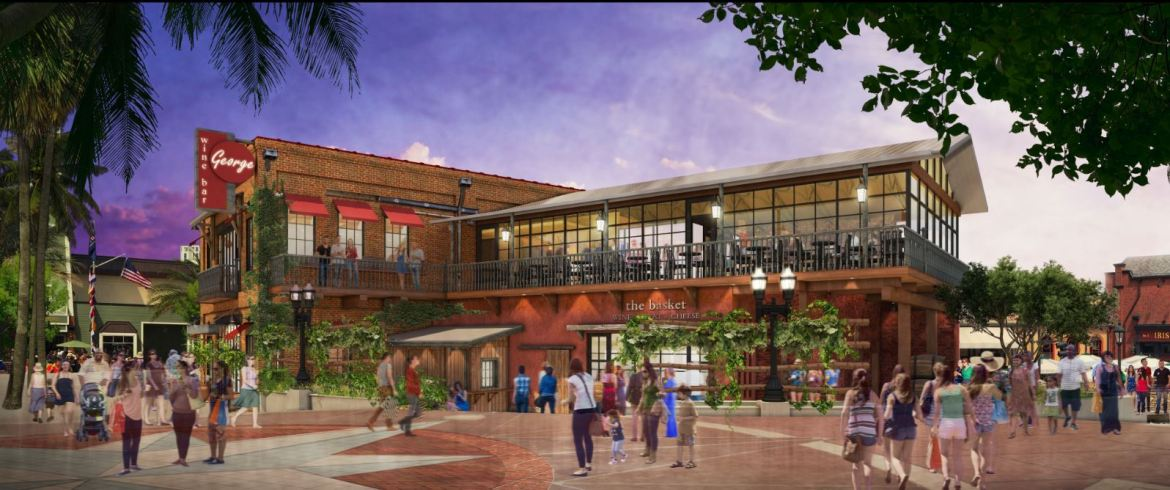 A First Look at Wine Bar George Coming to Disney Springs In Fall 2017