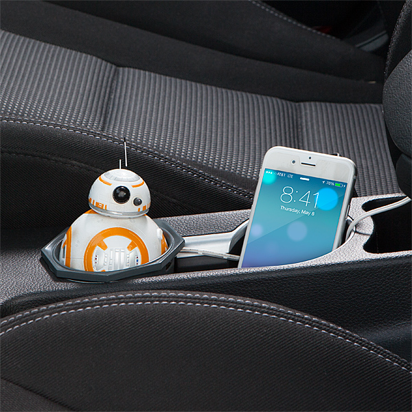 The Star Wars BB-8 USB Car Charger will Keep You Rolling