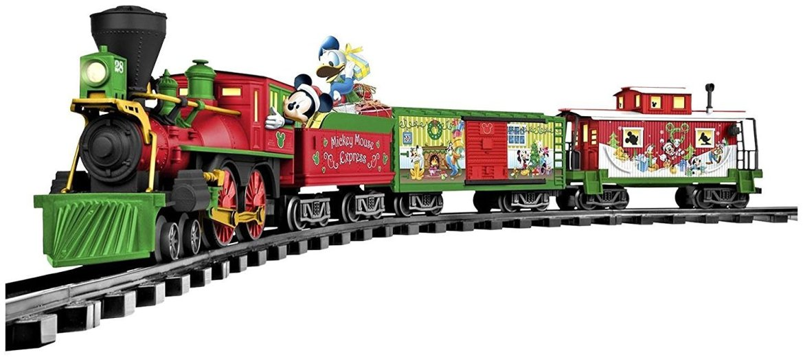 All Aboard Around the Tree with the Disney Christmas Train