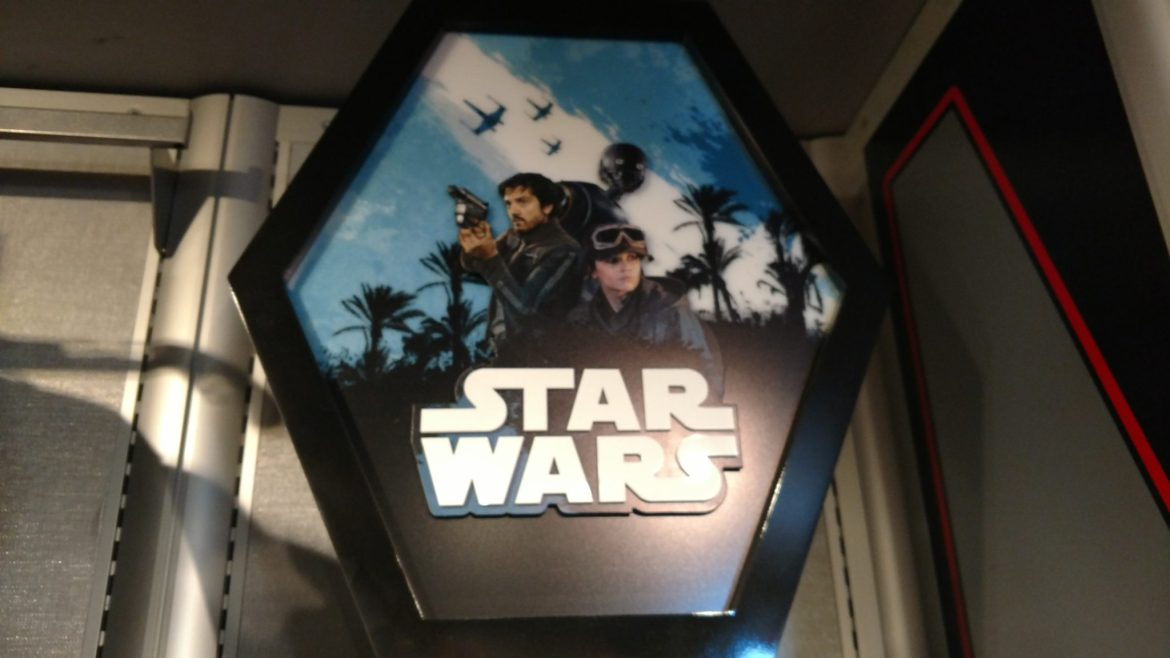 Rogue One: A Star Wars Story Merchandise Shows up at Hollywood Studios