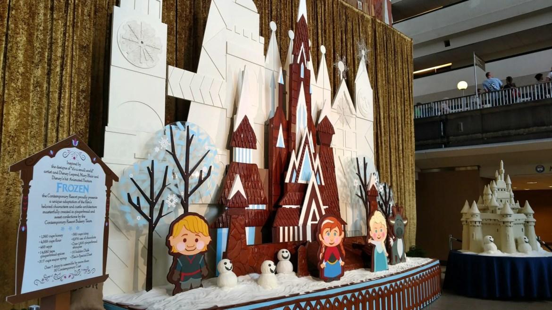 Christmas around the Monorail Resorts at Disney World