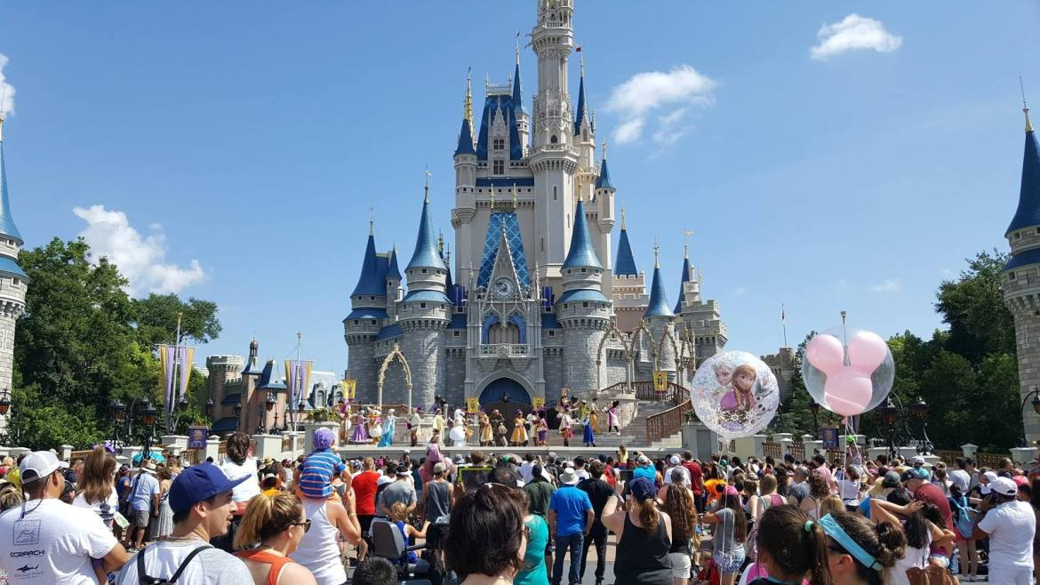 Magic Kingdom Under a Phased Closure Due to High Crowd Levels