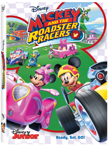 Bring Home this Fast Paced Fun of Mickey and the Roadster Racers on Disney DVD