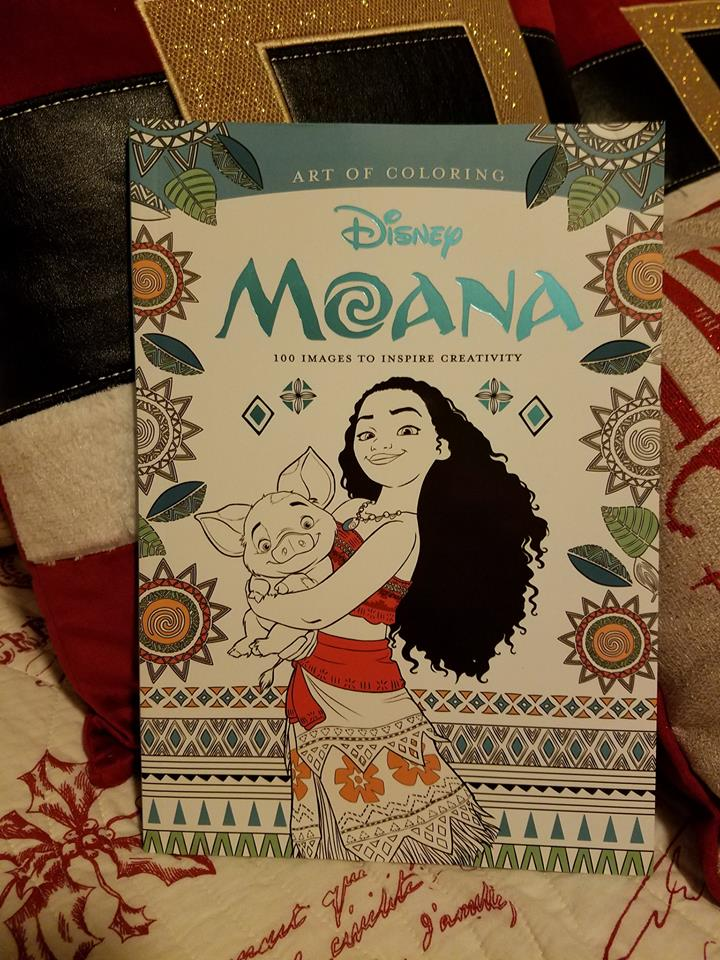 New Art of Coloring Moana Coloring Book and New Disney Pre-Orders