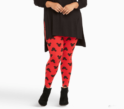 Stay Comfy and Stylish with Fabulous Red Mickey Leggings