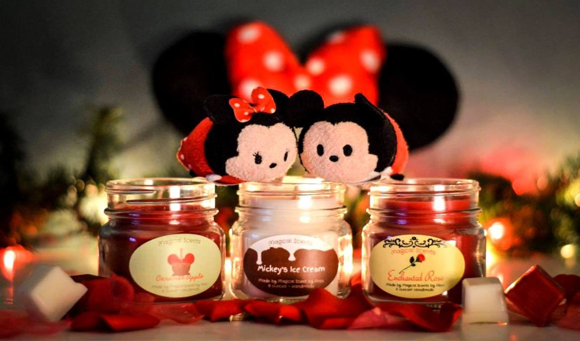Disney Inspired Candles Make a Romantic Valentine's Day Gift