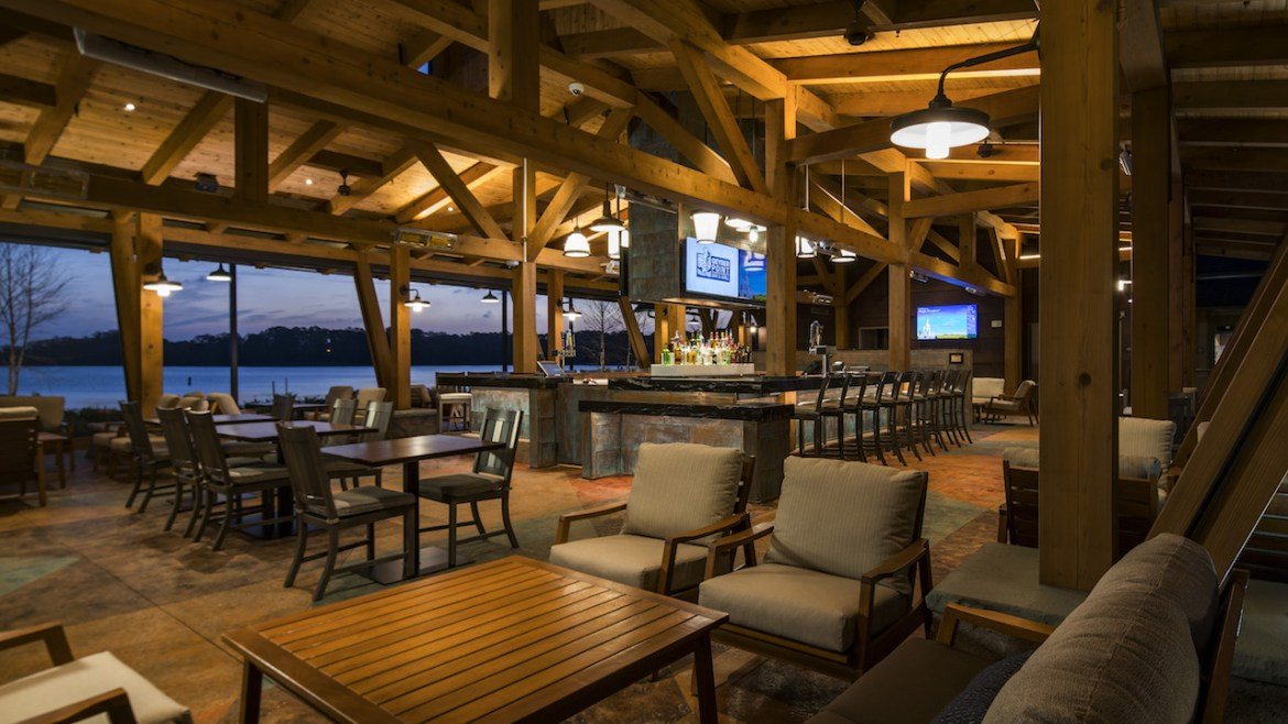 Geyser Point Bar & Grill Opens at Wilderness Lodge