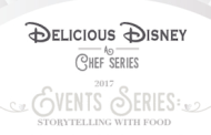 Tickets available for 'Delicious Disney: a Chef Series'