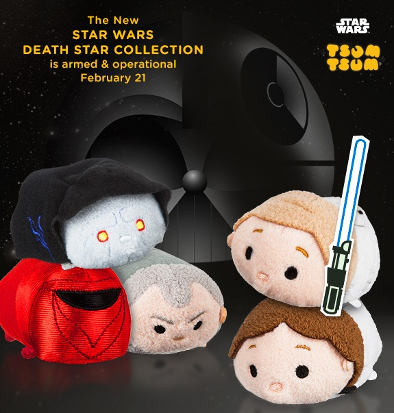 Star Wars Death Star Tsum Tsum Collection Coming Soon
