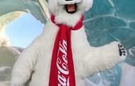 Snuggle up with the Coca Cola Polar Bear on National Polar Bear Day