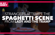 Watch as Strangers Recreate The Spaghetti Scene From