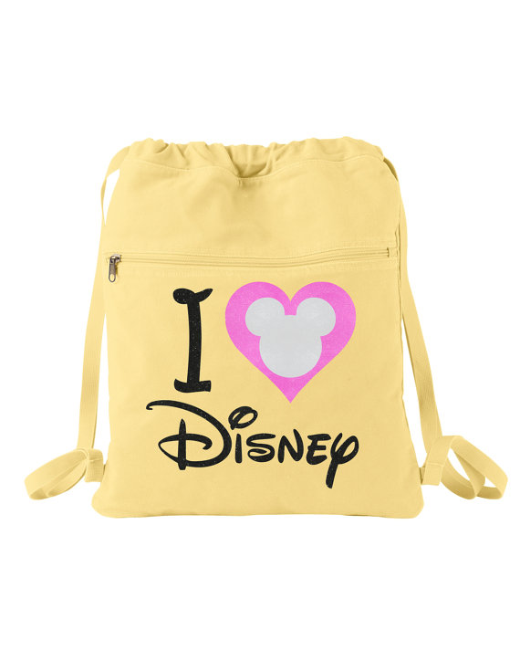 A Glittery I Heart Disney Backpack That is Perfect for Spring
