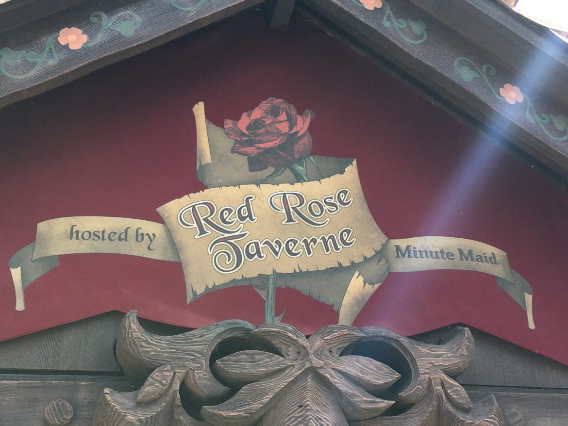 Enchanting Review – the Red Rose Taverne in Disneyland