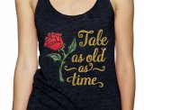Glittering Tale as Old as Time Beauty and the Beast Shirt