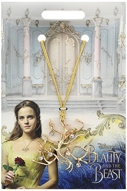 Belle's Tree of Life Pendant Necklace Replica from the New Movie