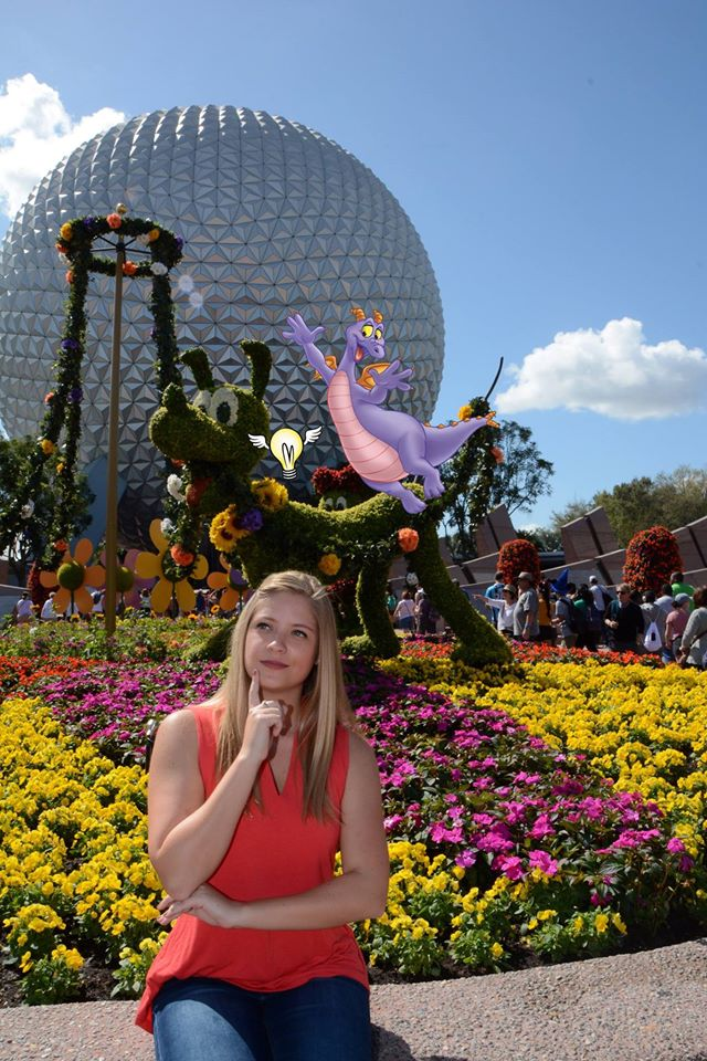 A New Figment Magic Shot is Available at Epcot International Flower & Garden Festival
