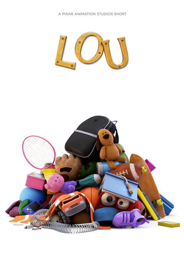 "Pixar Releases Title Poster For Animated Short ""Lou"""