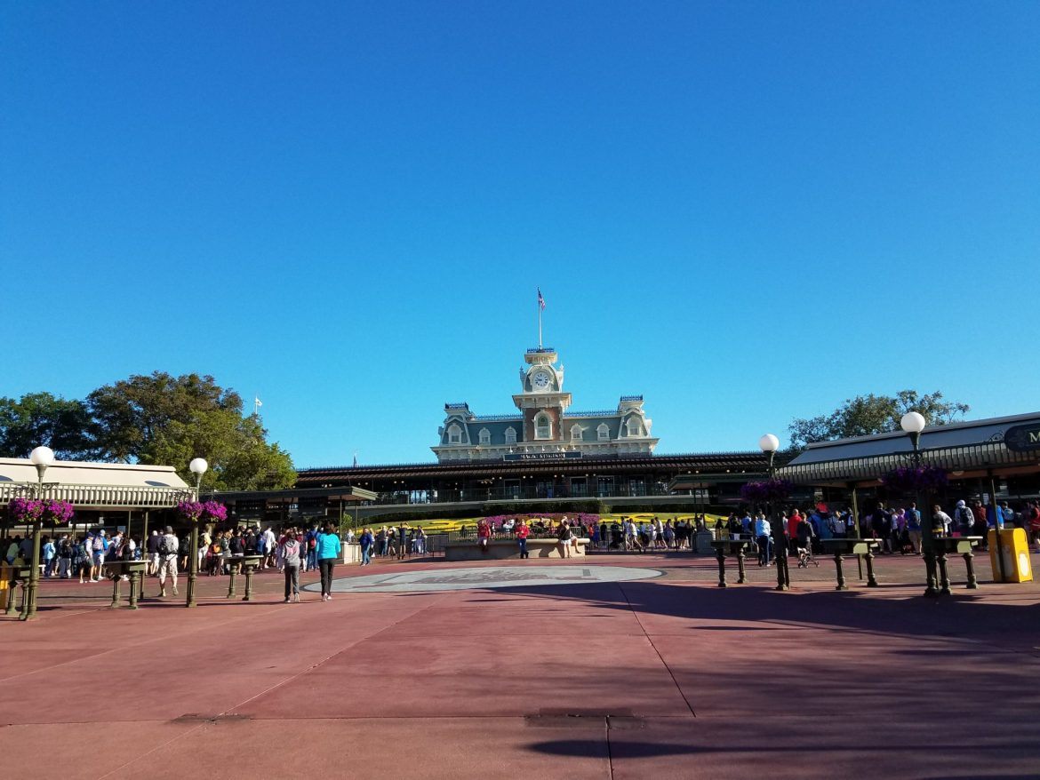 New Security Checkpoints Provide a Better Flow Into Magic Kingdom