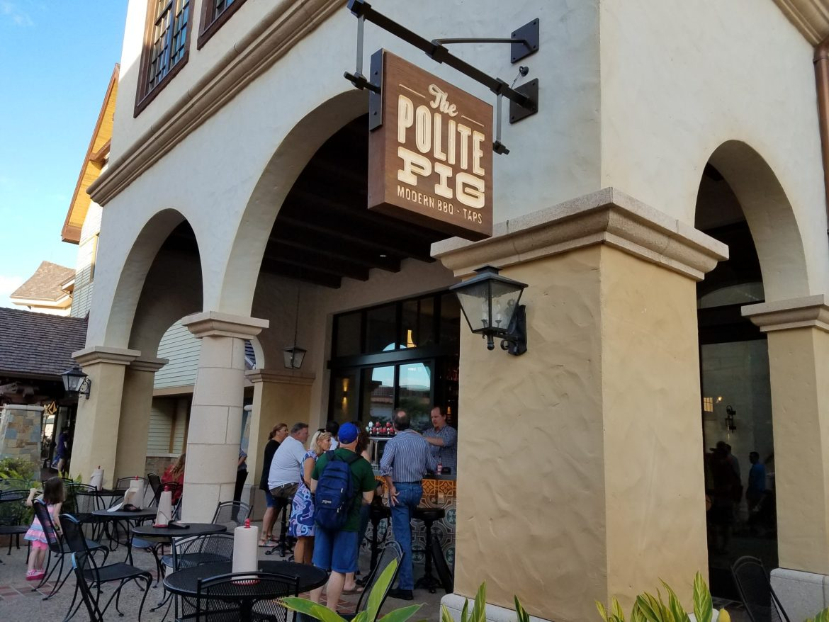 The Polite Pig Disney Springs Serves Up Modern Barbecue and Cocktails on Tap