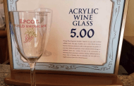 More Details Released on Epcot Souvenir Acrylic Refillable Wine Glass part of Wine Walk Tour