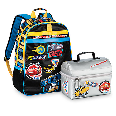 Head Off to the Races with a Personalized Cars 3 Backpack