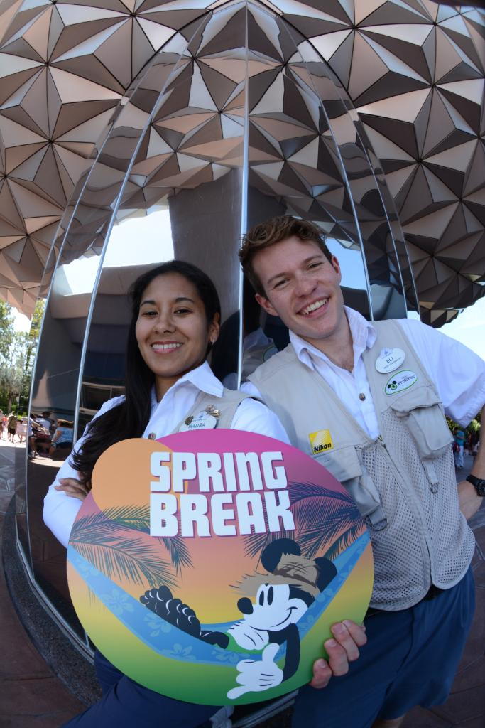 Spring Break Photo Op Available at Epcot