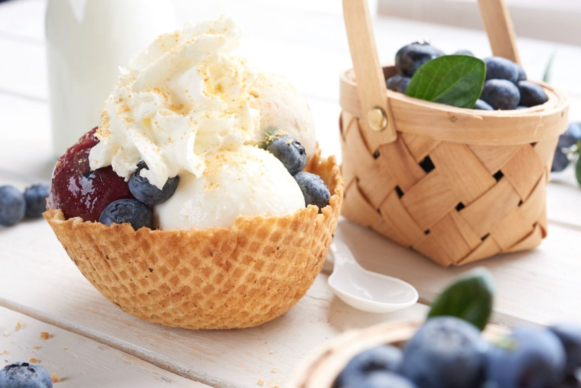 Celebrate National Blueberry Pie Day at Vivoli il Gelato in Disney Springs