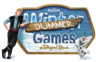 'Frozen' Summer Games are Back This Summer at Blizzard Beach!