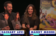 Mandy Moore Likely To Flubs Lines In Adorable Interview With Zachary Levi
