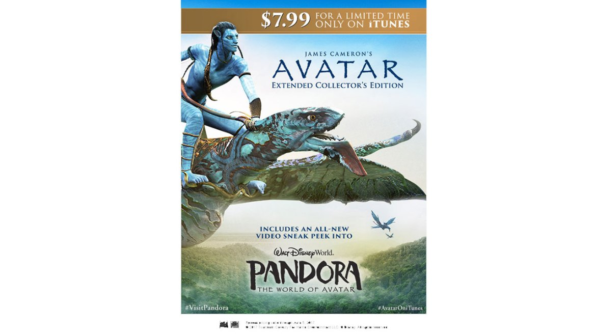 iTunes Celebrates the Opening of Pandora – The World of Avatar with a Special Discount