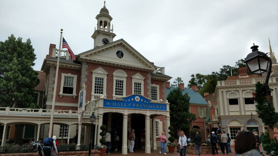 President Trump Will In Fact Have A Speaking Role In The Hall Of Presidents At The Magic Kingdom