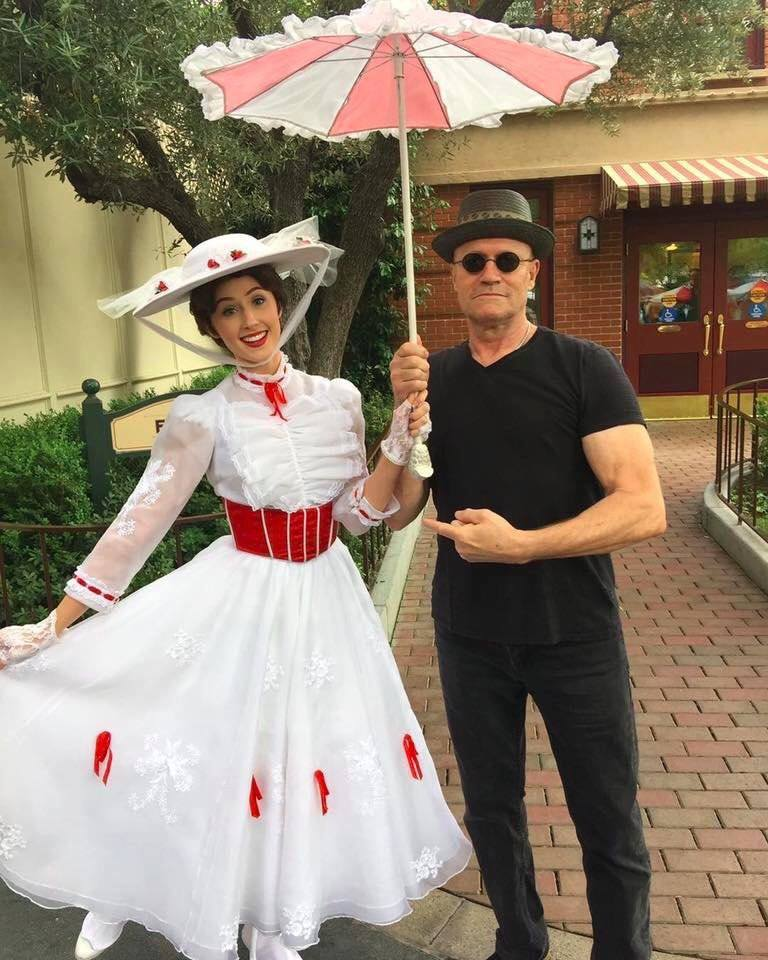 I'm Mary Poppins Y'all: Michael Rooker from Guardians of the Galaxy Stopped By Disneyland for a Special Meet-up