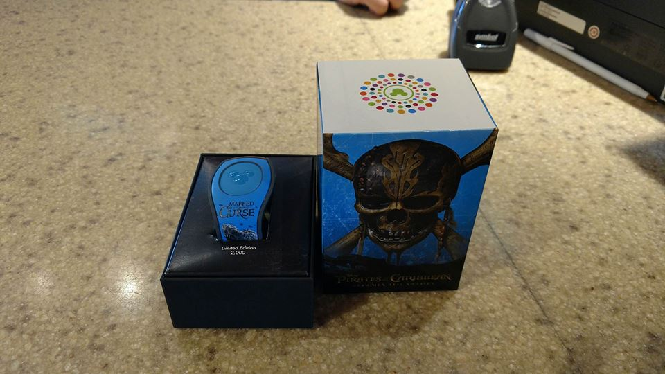 Limited Edition Dead Men Tell No Tales MagicBand 2, Now Available