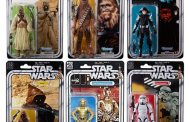 40th Anniversary Star Wars Series Black Action Figures
