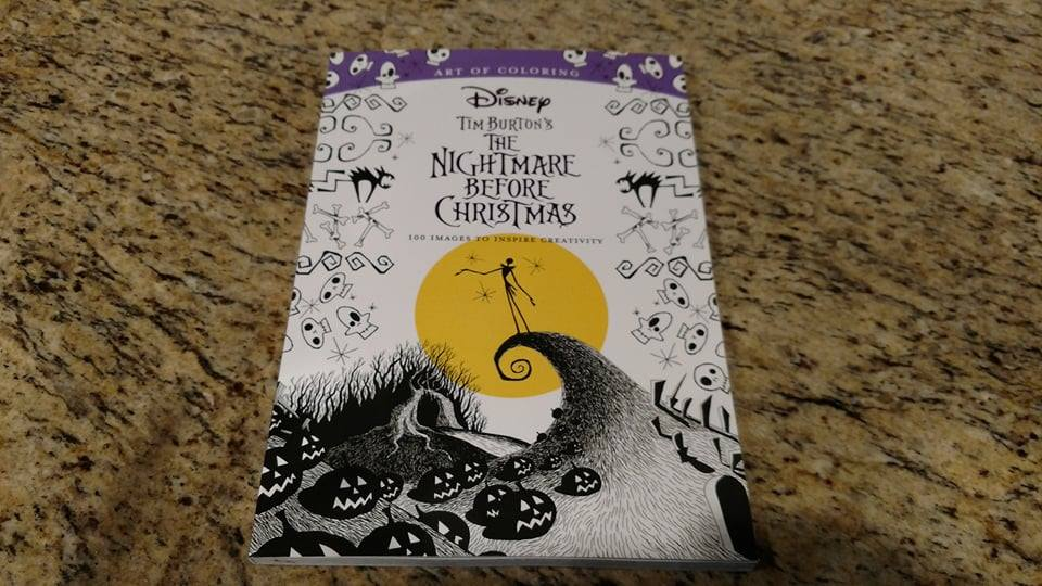 Art of Coloring: The Nightmare Before Christmas Coloring Book