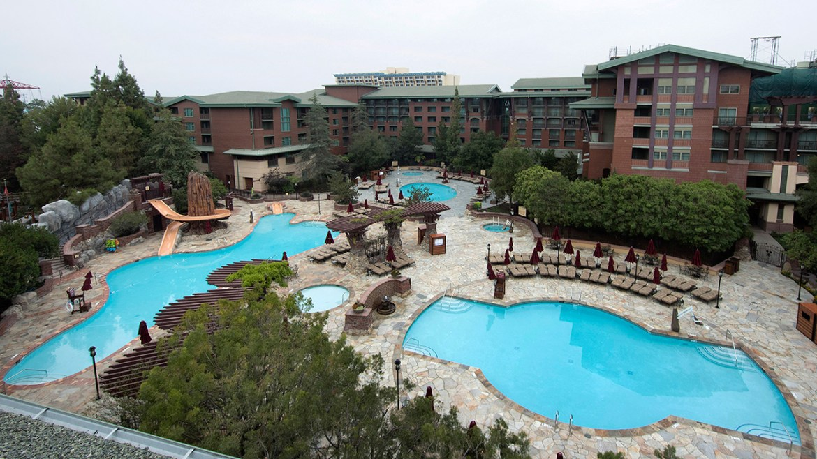 Check Out the New Pool Area at The Grand Californian