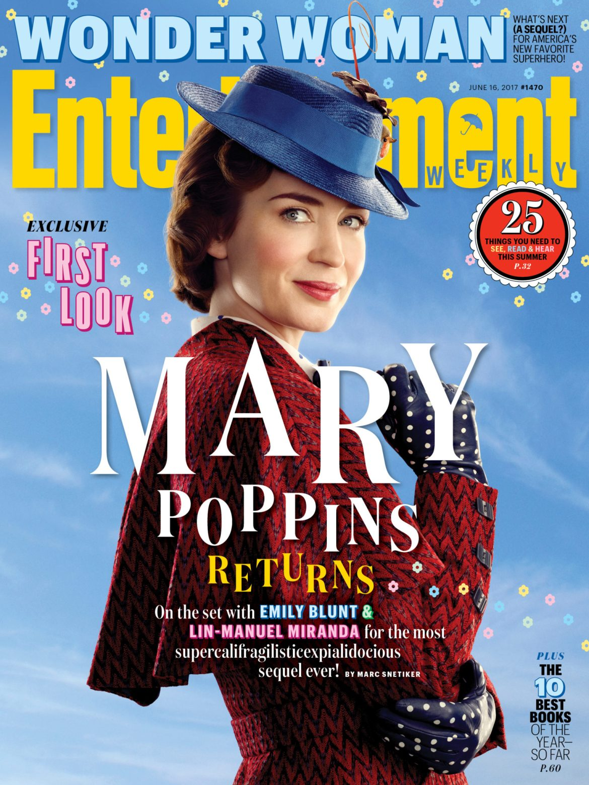 Our First Look Into Disney's Next Live Action Movie: 'Mary Poppins Returns'