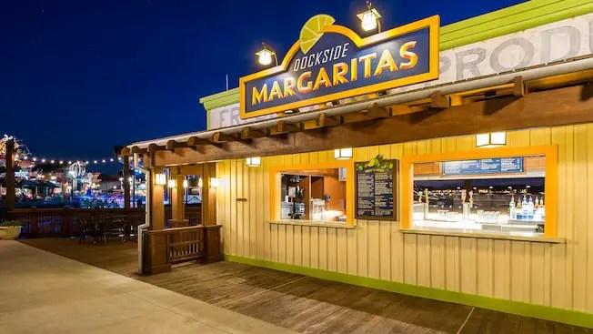 Your Favorite Pleasure Island Drinks are Officially Back at Dockside Margaritas in Disney Springs!