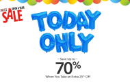 Today Only Save 70% Off with the Disney Store Twice Upon a Year Sale