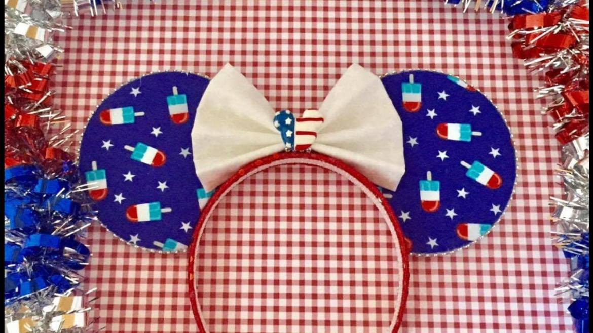 Jump in to Summer Spirit with Americana Minnie Mouse Ears