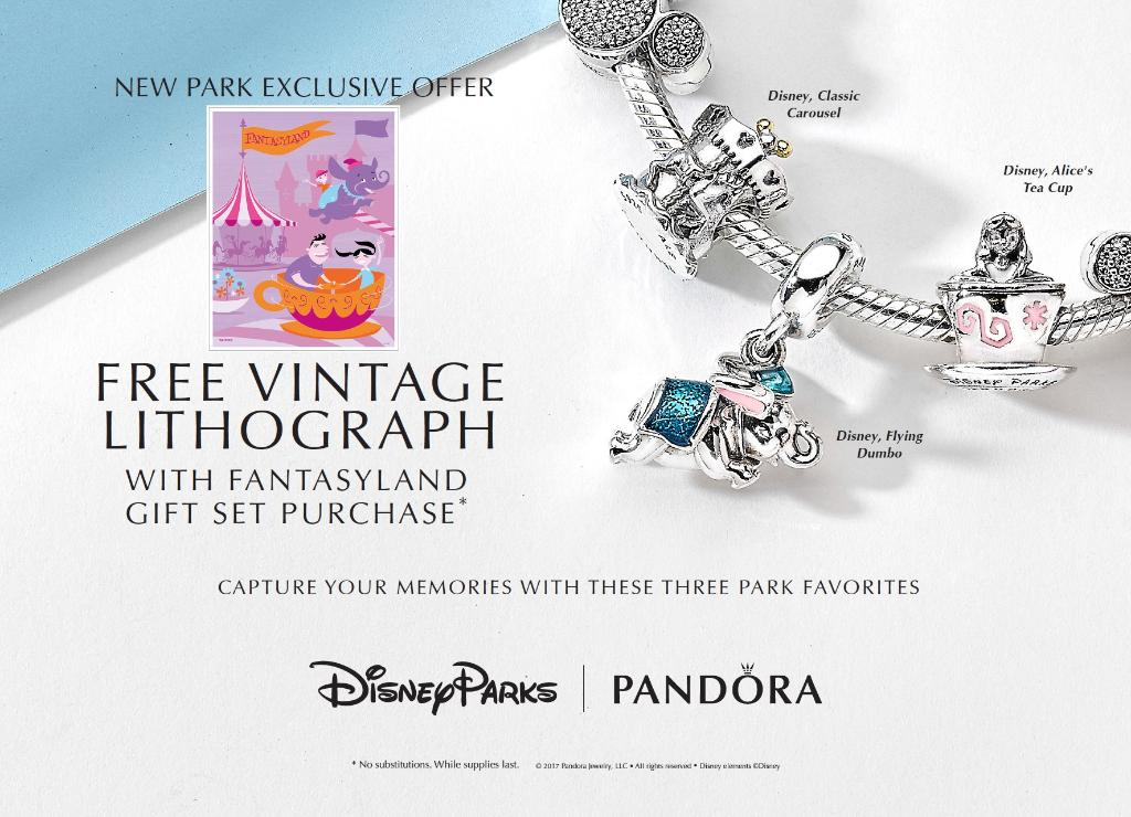 New Disney Parks Exclusive Pandora Charms Available in Disney Springs