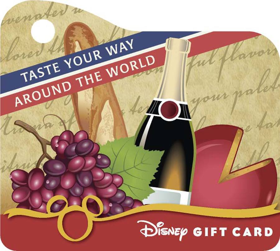 EPCOT Food and Wine Festival Gift Cards Simplify Tasting Your Way Around The World
