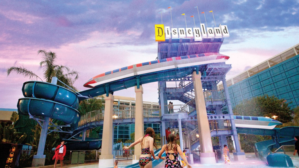 Summertime Activities at the Hotels of the Disneyland Resort