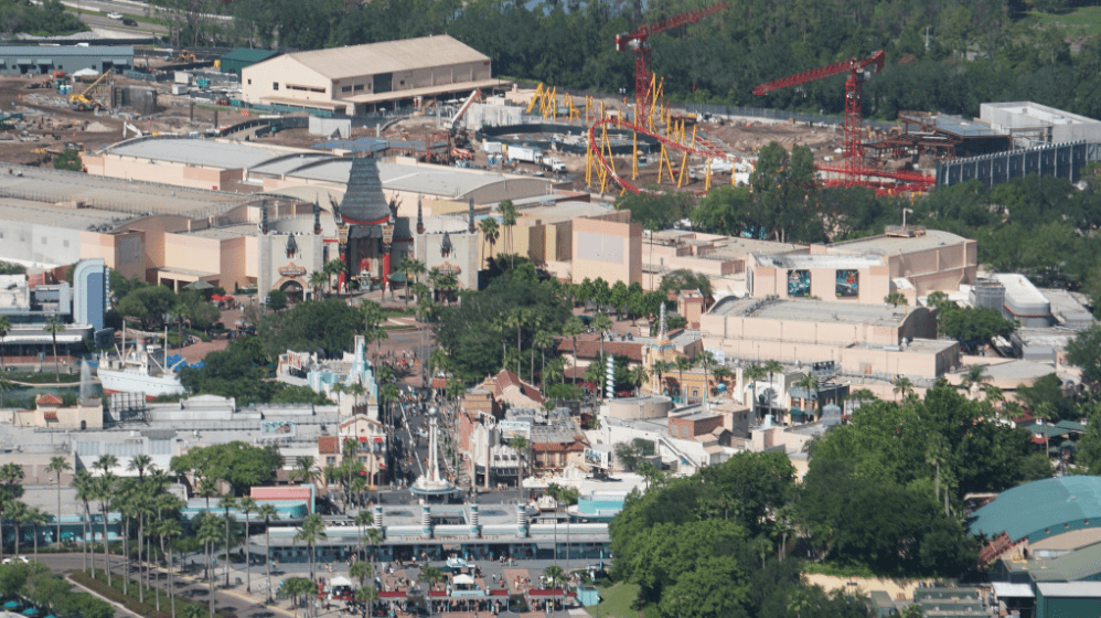 Star Wars Land and Toy Story Land – Aerial Photo Construction Updates