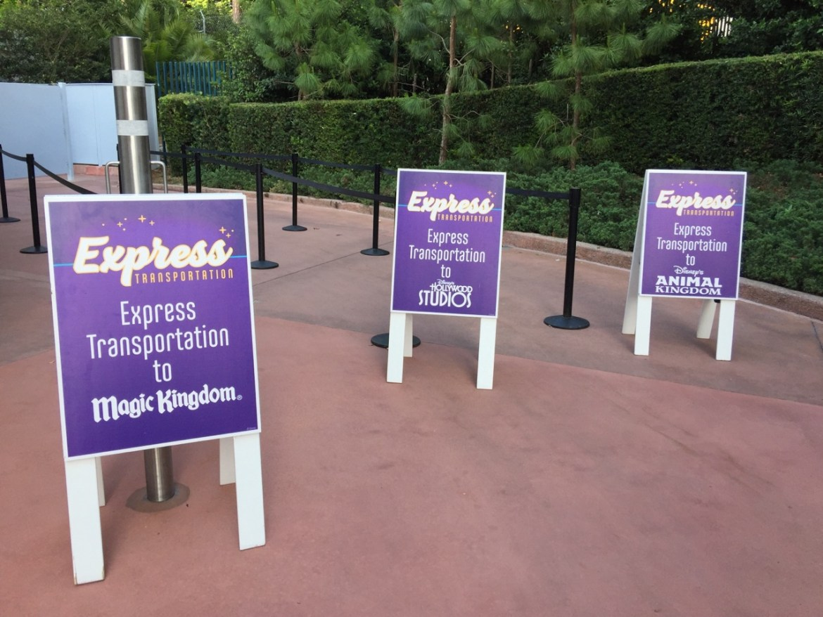 Express Transportation Option at Disney World Comes to an End