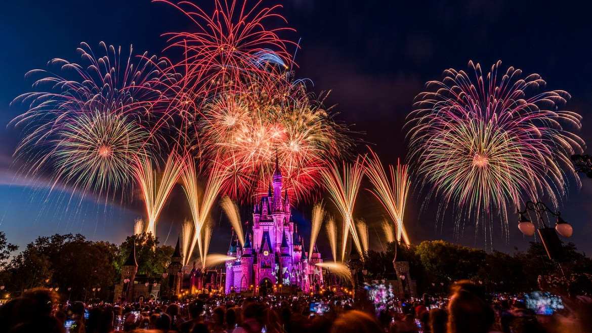 Fourth of July Fireworks Will Be Live Streamed from Magic Kingdom