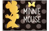 This Minnie Mouse Area Rug is a Gold Star Room Accent