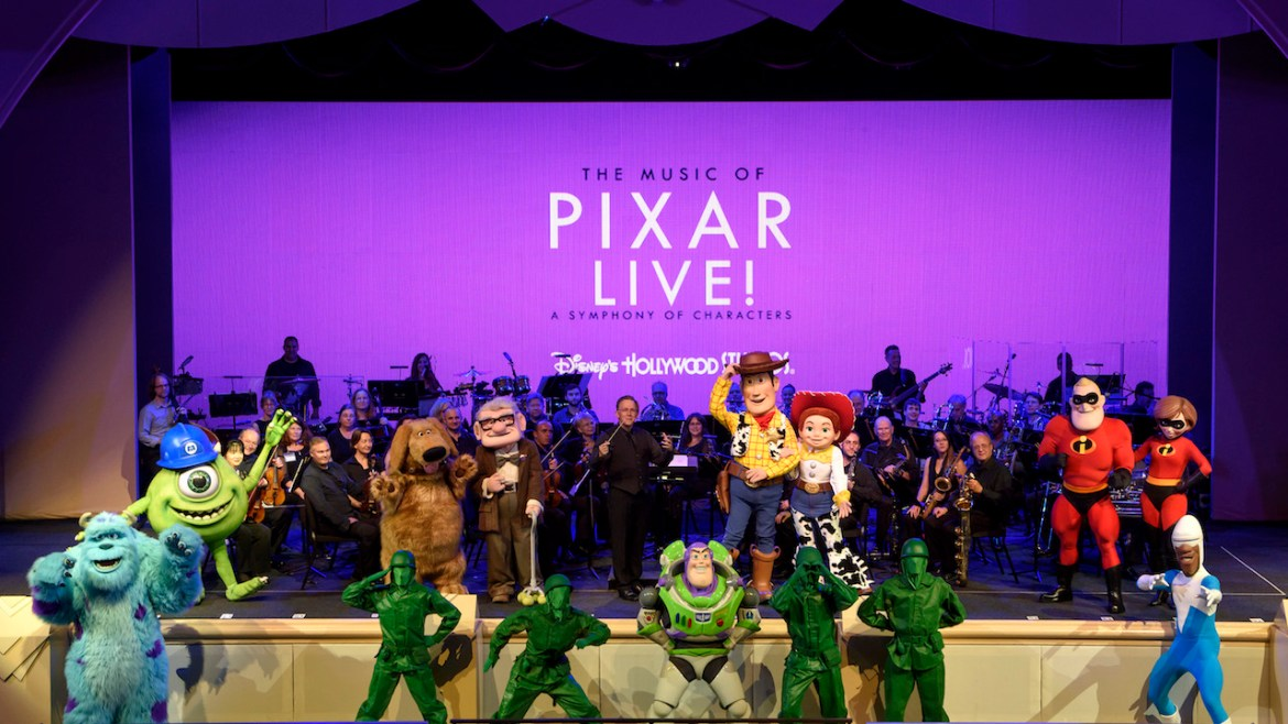 """""""The Music of Pixar Live!"""" Will Be Streamed Live On Thursday Night"""