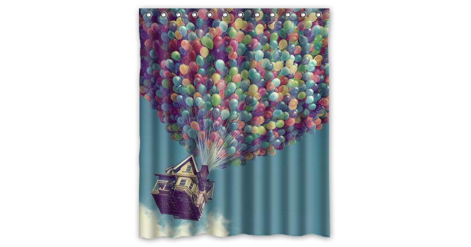 Five Unique Disney Inspired Shower Curtains We Love
